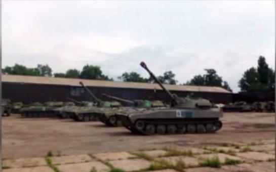 Так выглядит российская военная база на территории Украины (Видео)