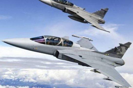 У границ Латвии перехвачены военные самолеты РФ