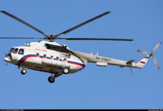 Стало известно о важных персонах, которые были на борту упавшего в РФ вертолета