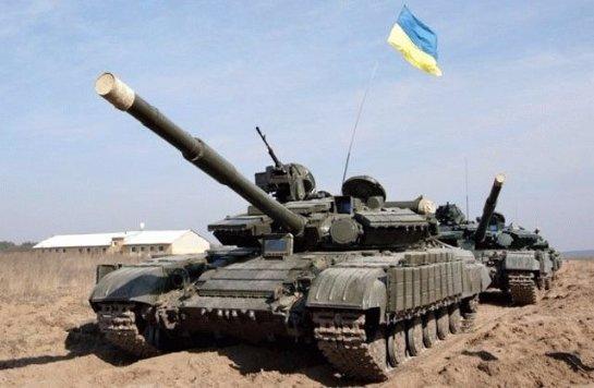 Украинские танки зашли в Новоазовск