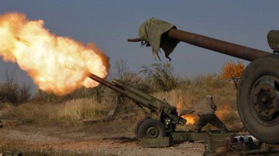 В Широкино военные разбомбили позицию боевиков