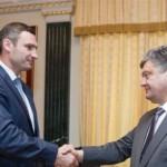 Стало известно, о чем договорились Порошенко и Кличко