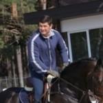 Еще один нардеп упал с коня и травмировался