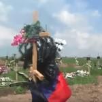 Как выглядит кладбище в Донецке (ВИДЕО)