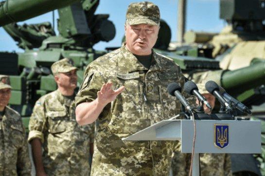 Порошенко об армии: число контрактников увеличится, мобилизация и призыв в Вооруженные силы Украины будут продолжены