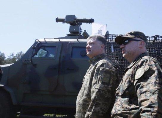 Порошенко ввел в действие решение СНБО о военно-техническом сотрудничестве с отдельными государствами