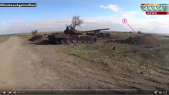 Российские наемники выдали свой уничтоженный танк за украинский: доказательства