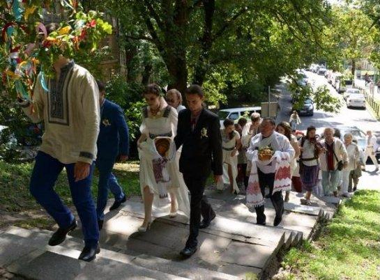 Олег Тягнибок выдал замуж старшую дочь (Фото)