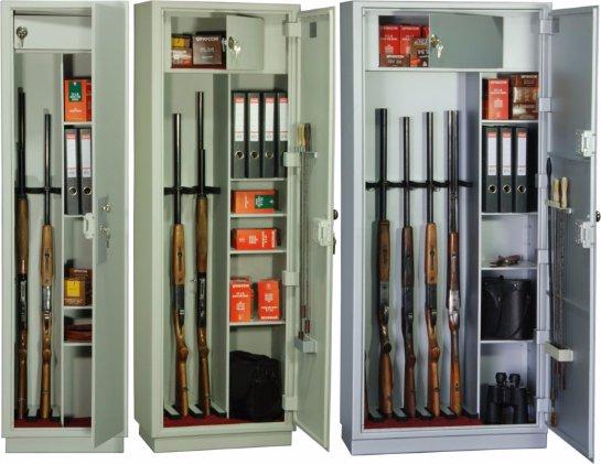 Большой выбор сейфов для оружия: храните надежно