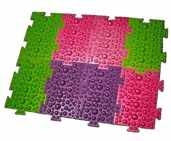 Модульный коврик для лечения плоскостопия у детей