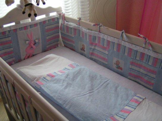 Как сшить бортик на детскую кроватку своими руками