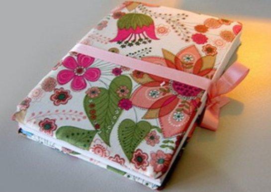 Как украсить обложку личного дневника своими руками