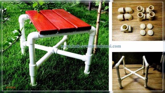 Как сделать стул из полипропиленовых труб своими руками