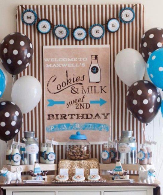 Декор комнаты для мальчика на день рождения