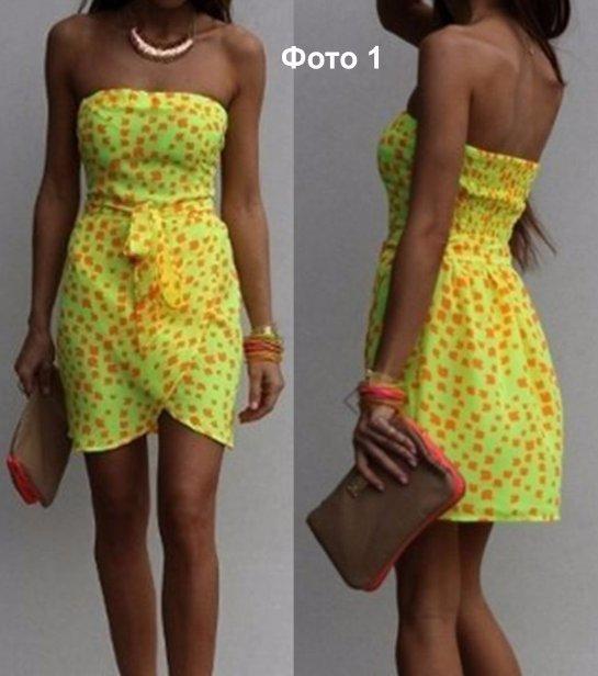 Модные платья своими руками с фото