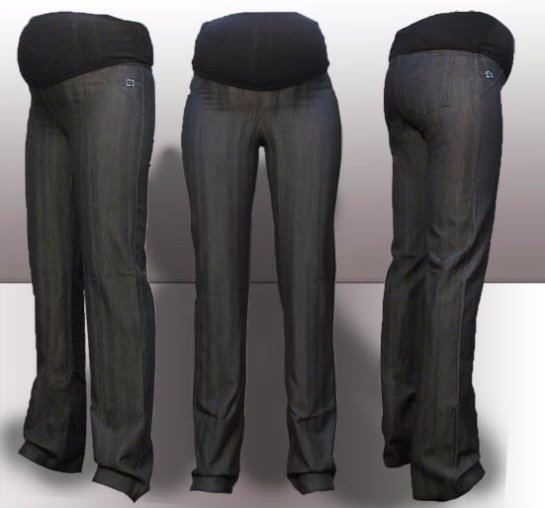 Сшить брюки для беременных из старых брюк своими руками 47