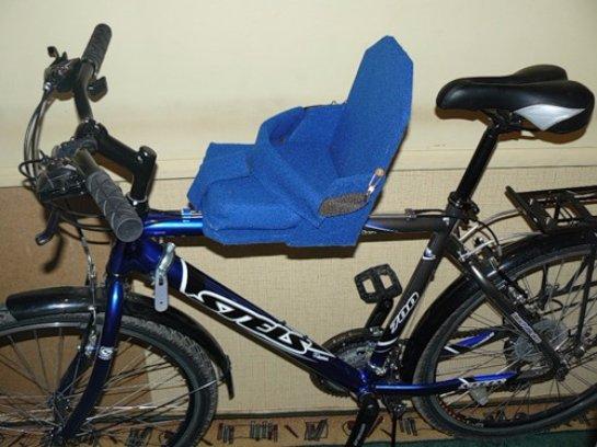 Сделать велокресло для детей своими руками