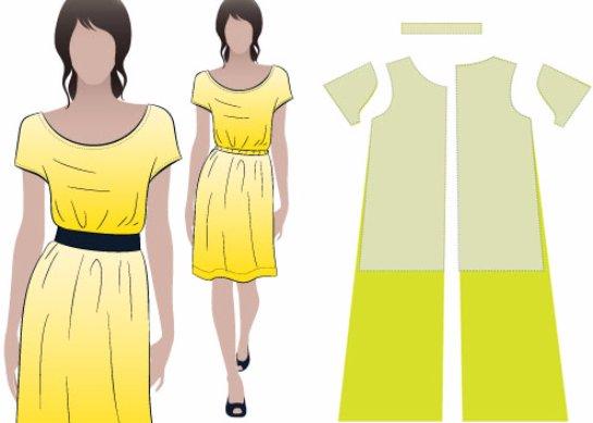 Как сшить прямое платье своими руками