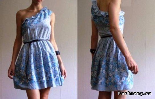 Как сшить платье за один час мастер-класс m