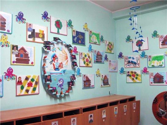 Оформление приемной в детском саду своими руками
