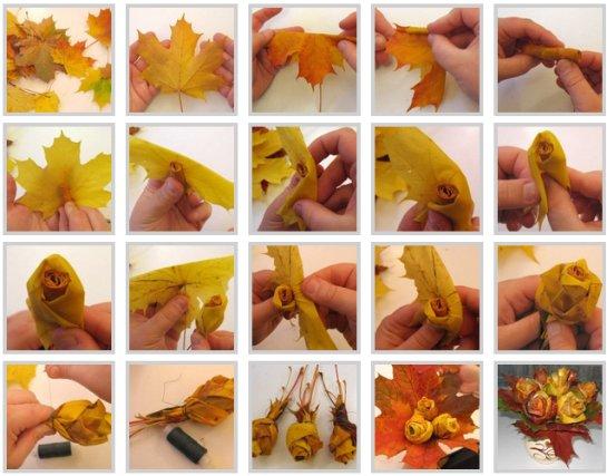 Поделки из природного материала как сделать