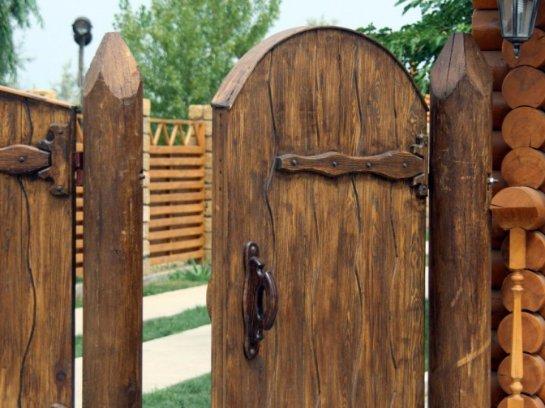 Изготовление ворот из дерева своими руками