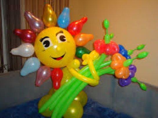 Поделки из надувных шариков