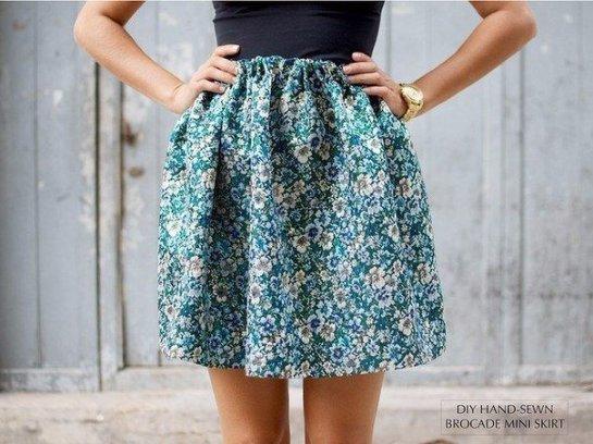 Как сшить прямую юбку своими руками