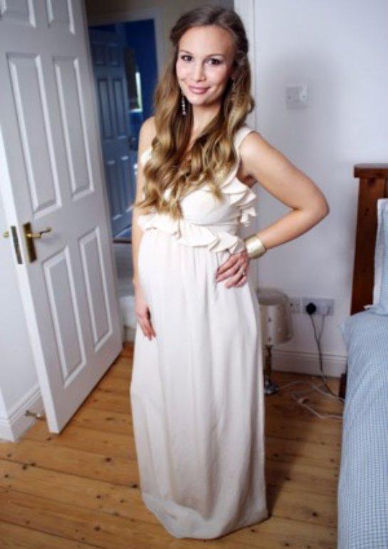 Сшить платье для беременной своими руками
