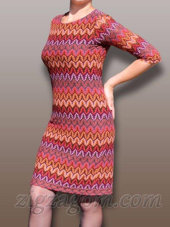 Сшить трикотажное платье своими руками