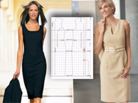 Как выкроить своими руками платье