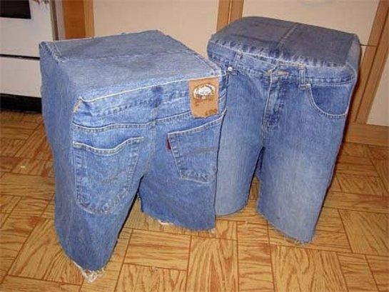 Поделки из брюк своими руками