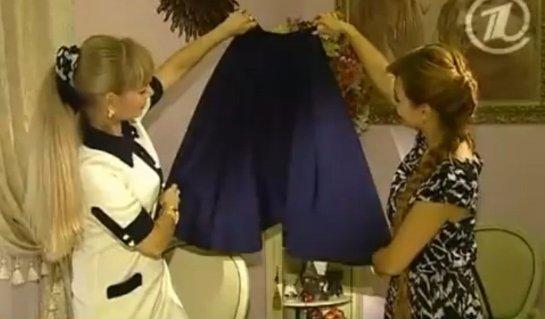 Как сшить юбку колокол своими руками