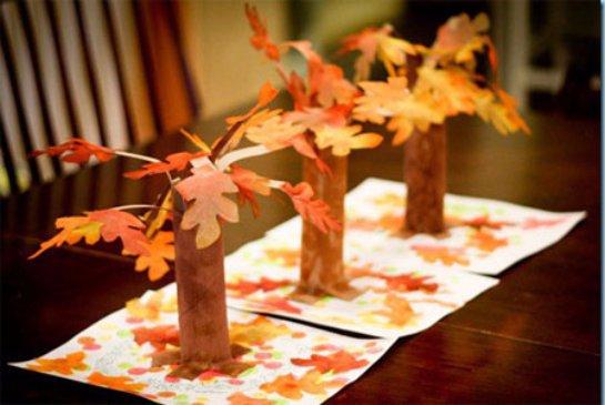 Поделки для детей своими руками осень