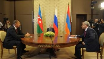 Путин, Саргсян и Алиев пришли к согласию в переговорах по Нагорному Карабаху
