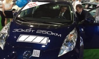 Рынок электромобилей в Украине с начала года вырос на 200%