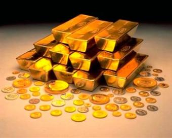 Цена на золото снижается
