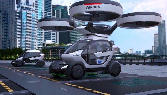 В Германии мультикоптеры превратят в городской транспорт
