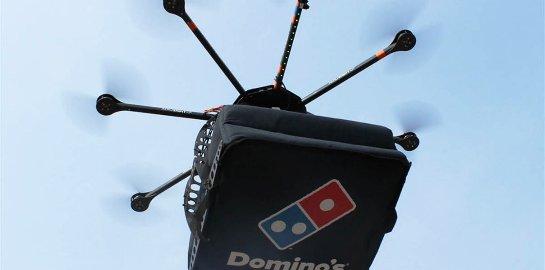 В Новой Зеландии используют дроны для доставки пиццы