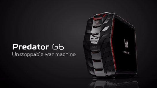 Компьютер Acer Predator G6 и монитор Predator Z35
