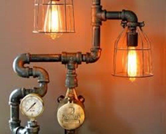 Светильники в стиле hand-made