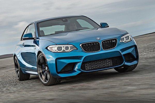 В Сеть попали снимки обновленного купе BMW M2 (ФОТО)