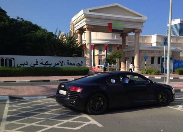 На чем ездят студенты университетов Дубая (ФОТО)