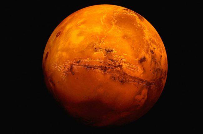 Жизнь на Марсе не зародилась из-за астероида, – ученые