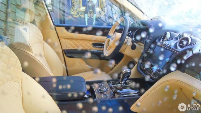 В Украине появился эксклюзивный внедорожник Bentley (ФОТО)