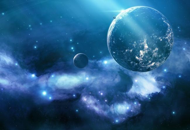Ученые нашли планету со светящейся водой