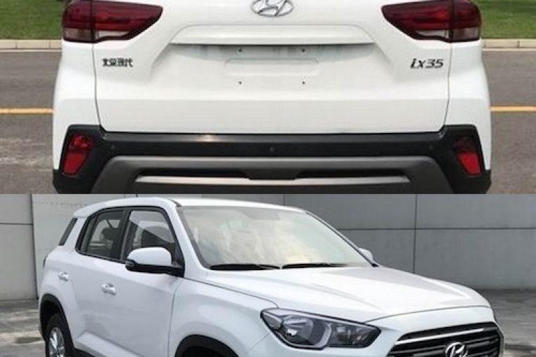 В интернете были опубликованы фото Hyundai ix35 нового поколения