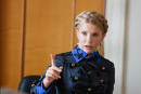Наполеоновское настроение: Юлия Тимошенко пришла в Верховную Раду в «генеральском мундире» (ФОТО)