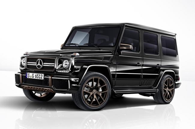 Mercedes-Benz выпустит лимитированную серию внедорожников G-Class (ФОТО)