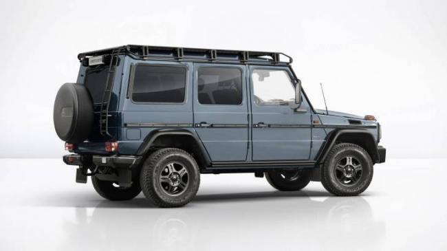 Компания Mercedes-Benz выпускает лимитированную серию внедорожников (ФОТО)